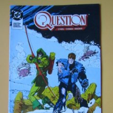 Cómics: QUESTION. NÚM. 18. ¡ENTRA GREEN ARROW! - DENNIS O'NEIL. DENYS COWAN. RICK MAGYAR. Lote 181329918
