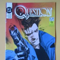 Comics: QUESTION. NÚM. 35. QUE NADA TE HAGA DESFALLECER - DENNIS O'NEIL. DENYS COWAN. MALCOM JONES III. Lote 181329920
