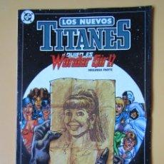 Cómics: LOS NUEVOS TITANES. NÚM. 11. ¿QUIÉN ES WONDER GIRL? SEGUNDA PARTE - MARV WOLFMAN. G. PÉREZ. BOB MCLE. Lote 181329925