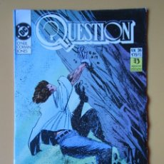 Comics: QUESTION. NÚM. 36. QUIZÁS GOMORRA - DENNIS O'NEIL. DENYS COWAN. MALCOM JONES III. Lote 181329945