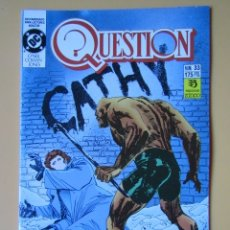 Comics: QUESTION. NÚM. 33. HAROLD - DENNIS O'NEIL. DENYS COWAN. MALCOM JONES III. Lote 181329948