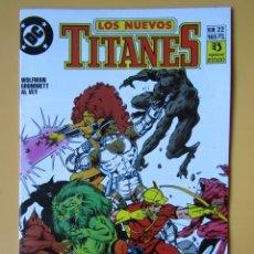 Cómics: LOS NUEVOS TITANES. NÚM. 22. TERMINATED! - MARV WOLFMAN. TOM GRUMMETT. AL VEY. Lote 181329965