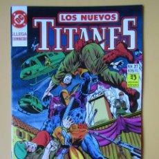 Cómics: LOS NUEVOS TITANES. NÚM. 27. ¡LLEGA TERMINATOR! - BARBARA Y KARL KESEL. Lote 181330000