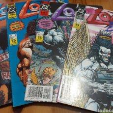 Comics : SERIE COMPLETA COMICS LOBO,LOBO'S BACK. Lote 188723432