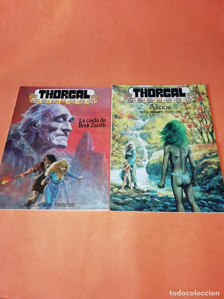 THORGAL. ALINOE Y LA CAIDA DE BREK ZARITH. EDICIONES ZINCO. BUEN ESTADO (Tebeos y Comics - Zinco - Prestiges y Tomos)
