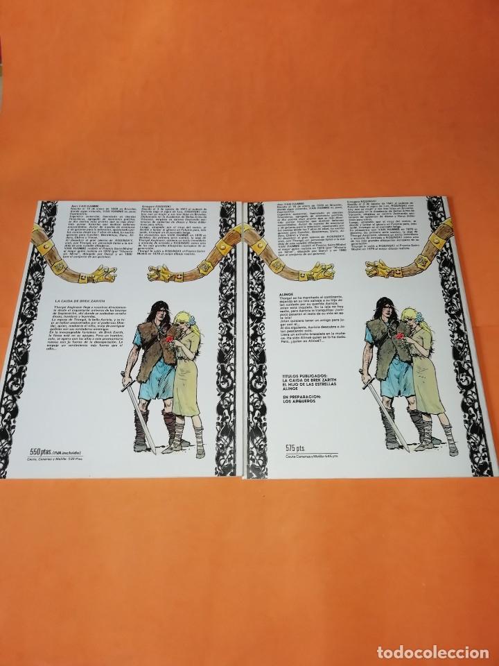 Cómics: THORGAL. ALINOE Y LA CAIDA DE BREK ZARITH. EDICIONES ZINCO. BUEN ESTADO - Foto 2 - 181554847