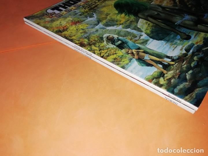 Cómics: THORGAL. ALINOE Y LA CAIDA DE BREK ZARITH. EDICIONES ZINCO. BUEN ESTADO - Foto 3 - 181554847
