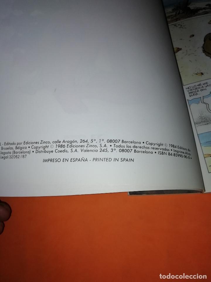 Cómics: THORGAL. ALINOE Y LA CAIDA DE BREK ZARITH. EDICIONES ZINCO. BUEN ESTADO - Foto 6 - 181554847