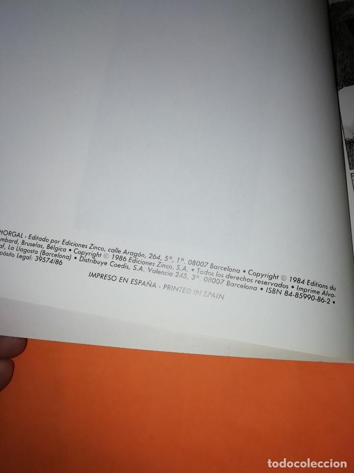 Cómics: THORGAL. ALINOE Y LA CAIDA DE BREK ZARITH. EDICIONES ZINCO. BUEN ESTADO - Foto 8 - 181554847