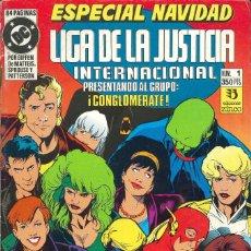 Cómics: LIGA DE LA JUSTICIA INTERNACIONAL - EDICIONES ZINCO / ESPECIAL NAVIDAD (1991). Lote 181607518