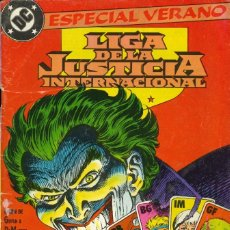 Cómics: LIGA DE LA JUSTICIA INTERNACIONAL - EDICIONES ZINCO / ESPECIAL VERANO (1989). Lote 181610510