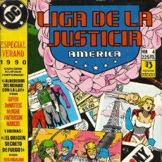 Cómics: LIGA DE LA JUSTICIA AMÉRICA - EDICIONES ZINCO / ESPECIAL VERANO (1990). Lote 181610632
