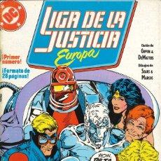 Cómics: LIGA DE LA JUSTICIA EUROPA - EDICIONES ZINCO / NÚMERO 1. Lote 181621567