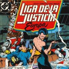 Cómics: LIGA DE LA JUSTICIA EUROPA - EDICIONES ZINCO / NÚMERO 4. Lote 181621997