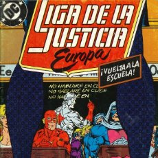 Cómics: LIGA DE LA JUSTICIA EUROPA - EDICIONES ZINCO / NÚMERO 6. Lote 181622123