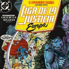 Cómics: LIGA DE LA JUSTICIA EUROPA - EDICIONES ZINCO / NÚMERO 7. Lote 181622213