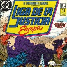 Cómics: LIGA DE LA JUSTICIA EUROPA - EDICIONES ZINCO / NÚMERO 8. Lote 181622268