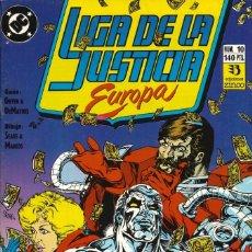 Cómics: LIGA DE LA JUSTICIA EUROPA - EDICIONES ZINCO / NÚMERO 10. Lote 181622311