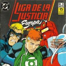 Cómics: LIGA DE LA JUSTICIA EUROPA - EDICIONES ZINCO / NÚMERO 11. Lote 181622455