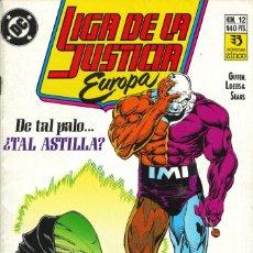 Cómics: LIGA DE LA JUSTICIA EUROPA - EDICIONES ZINCO / NÚMERO 12. Lote 181623850