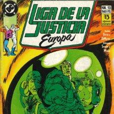 Cómics: LIGA DE LA JUSTICIA EUROPA - EDICIONES ZINCO / NÚMERO 13. Lote 181623883