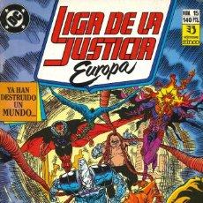 Cómics: LIGA DE LA JUSTICIA EUROPA - EDICIONES ZINCO / NÚMERO 15. Lote 181623950
