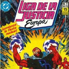 Cómics: LIGA DE LA JUSTICIA EUROPA - EDICIONES ZINCO / NÚMERO 17. Lote 181624028