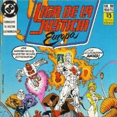 Cómics: LIGA DE LA JUSTICIA EUROPA - EDICIONES ZINCO / NÚMERO 19. Lote 181624093