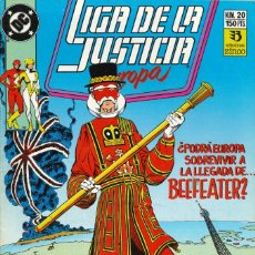Cómics: LIGA DE LA JUSTICIA EUROPA - EDICIONES ZINCO / NÚMERO 20. Lote 181624135