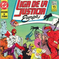 Cómics: LIGA DE LA JUSTICIA EUROPA - EDICIONES ZINCO / NÚMERO 27. Lote 181625110