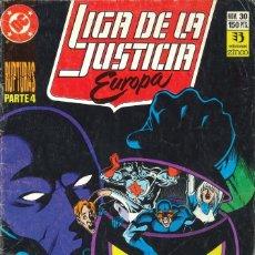 Cómics: LIGA DE LA JUSTICIA EUROPA - EDICIONES ZINCO / NÚMERO 30. Lote 181625170