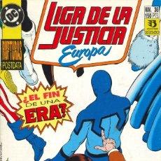 Cómics: LIGA DE LA JUSTICIA EUROPA - EDICIONES ZINCO / NÚMERO 36. Lote 181625335