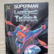 Fumetti: SUPERMAN LOS LADRONES DE LA TIERRA - ZINCO. Lote 181629435