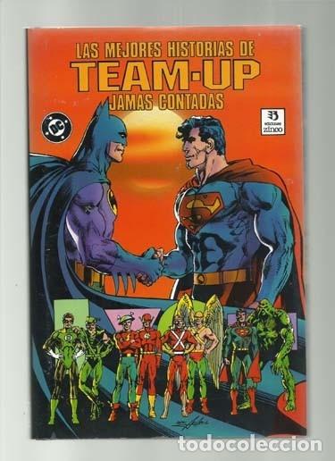 LAS MEJORES HISTORIAS DE TEAM-UP JAMAS CONTADAS, 1991, ZINCO, MUY BUEN ESTADO (Tebeos y Comics - Zinco - Batman)