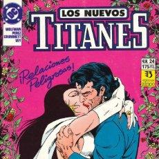 Cómics: LOS NUEVOS TITANES (VOL. 2) - EDICIONES ZINCO / NÚMERO 24. Lote 181807052