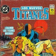 Cómics: LOS NUEVOS TITANES (VOL. 2) - EDICIONES ZINCO / NÚMERO 29. Lote 181807190