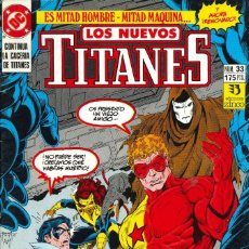 Cómics: LOS NUEVOS TITANES (VOL. 2) - EDICIONES ZINCO / NÚMERO 33. Lote 181807328