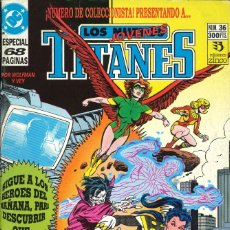 Cómics: LOS NUEVOS TITANES (VOL. 2) - EDICIONES ZINCO / NÚMERO 36. Lote 181807635