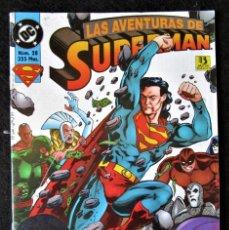 Cómics: SUPERMAN Nº 28 - LAS AVENTURAS DE SUPERMAN - ZINCO 1995 ''MUY BUEN ESTADO''. Lote 182033556