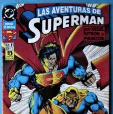 Cómics: SUPERMAN Nº 11 - LAS AVENTURAS DE SUPERMAN - ZINCO 1995 ''MUY BUEN ESTADO''. Lote 182033856