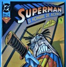 Cómics: SUPERMAN Nº 33 - EL HOMBRE DE ACERO - ¡EL SECRETO REVELADO! . Lote 182037053