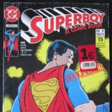Cómics: SUPERBOY EL COMIC BOOK Nº 6 - DC ZINCO 1990. Lote 182037516