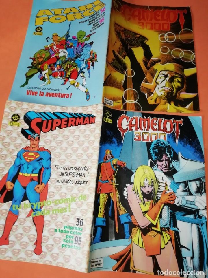 Cómics: COMICS DC . LOTE VARIADO DE 13 COMICS . GRAPA. EDICIONES ZINCO. BUEN ESTADO. VER FOTOS. - Foto 2 - 182144425