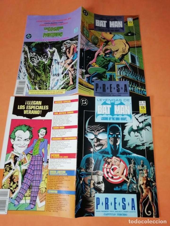 Cómics: COMICS DC . LOTE VARIADO DE 13 COMICS . GRAPA. EDICIONES ZINCO. BUEN ESTADO. VER FOTOS. - Foto 4 - 182144425