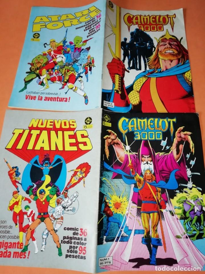 Cómics: COMICS DC . LOTE VARIADO DE 13 COMICS . GRAPA. EDICIONES ZINCO. BUEN ESTADO. VER FOTOS. - Foto 3 - 182144425