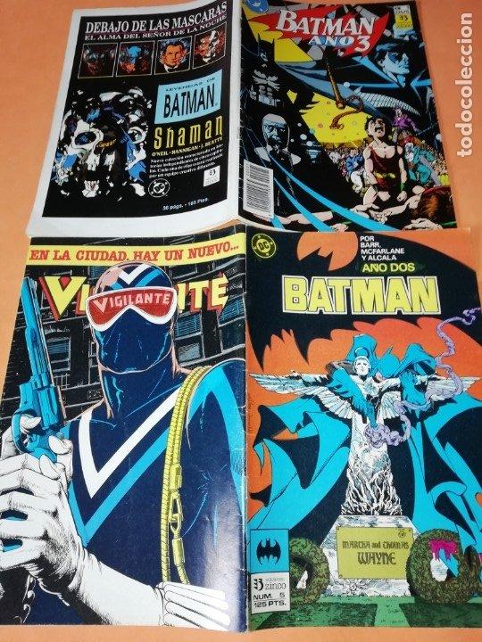 Cómics: COMICS DC . LOTE VARIADO DE 13 COMICS . GRAPA. EDICIONES ZINCO. BUEN ESTADO. VER FOTOS. - Foto 6 - 182144425