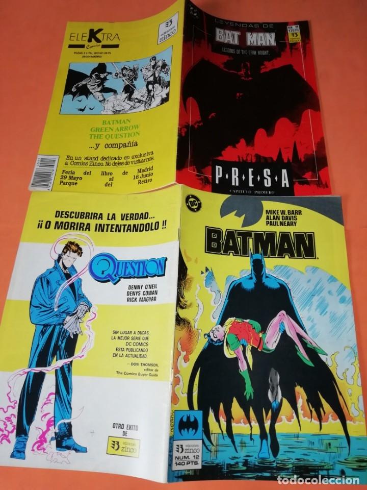 Cómics: COMICS DC . LOTE VARIADO DE 13 COMICS . GRAPA. EDICIONES ZINCO. BUEN ESTADO. VER FOTOS. - Foto 5 - 182144425