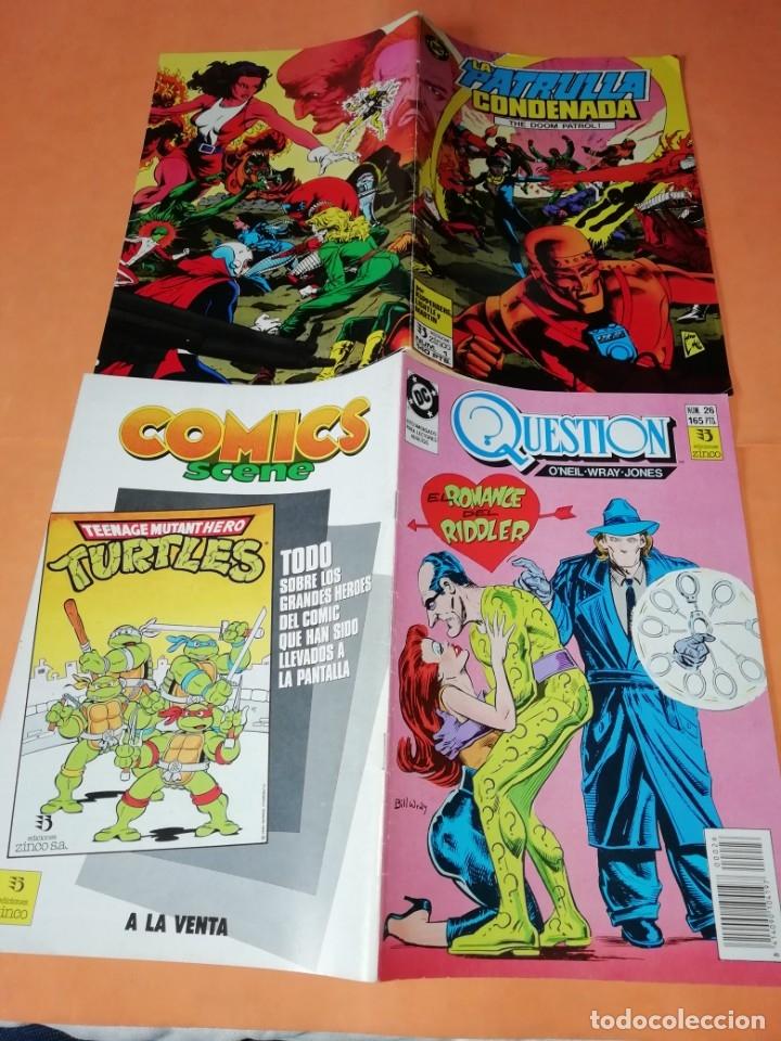 Cómics: COMICS DC . LOTE VARIADO DE 13 COMICS . GRAPA. EDICIONES ZINCO. BUEN ESTADO. VER FOTOS. - Foto 8 - 182144425