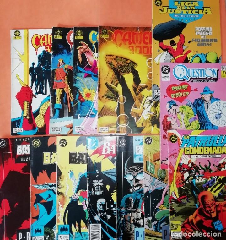 COMICS DC . LOTE VARIADO DE 13 COMICS . GRAPA. EDICIONES ZINCO. BUEN ESTADO. VER FOTOS. (Tebeos y Comics - Zinco - Otros)