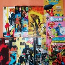 Cómics: COMICS DC . LOTE VARIADO DE 13 COMICS . GRAPA. EDICIONES ZINCO. BUEN ESTADO. VER FOTOS.. Lote 182144425